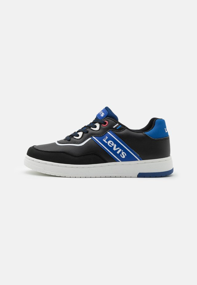 IRVING - Trainers - black/blue