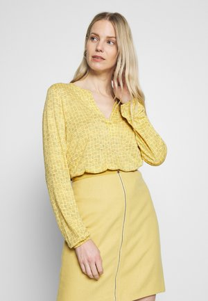 CORE - Long sleeved top - dusty yellow