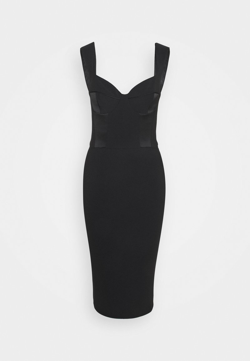 Elisabetta Franchi - Robe fourreau - black