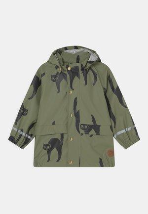CATZ RAIN JACKET UNISEX - Waterproof jacket - green
