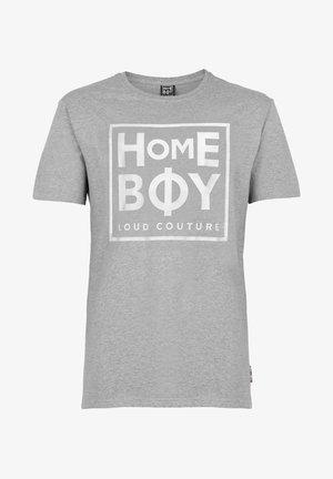 TAKE YOU HOME - Print T-shirt - grey heather