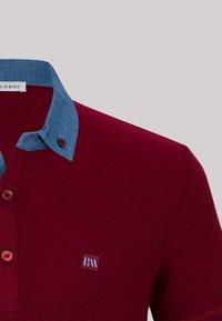 Basics and More - Polo shirt - bordeaux - 6