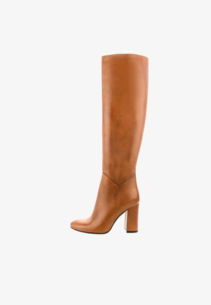 PERTOSA - High heeled boots - brown