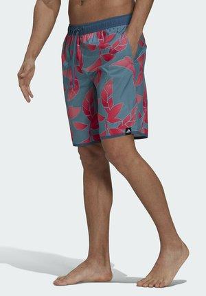 BAÑADOR CLÁSICO GRAPHIC - Swimming shorts - blue