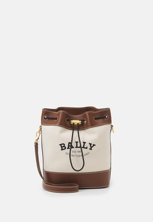 CABANA CASUAL BUCKET - Across body bag - natual
