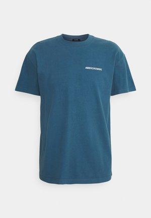 CIRCLE FOIL GRAPHIC - Print T-shirt - light blue