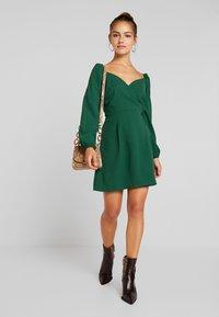 Glamorous Petite - Day dress - dark green - 1