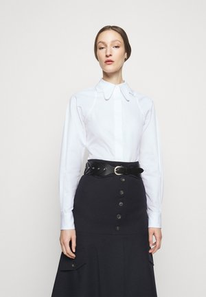 BUTTERFLY COLLAR FITTED - Camicia - white