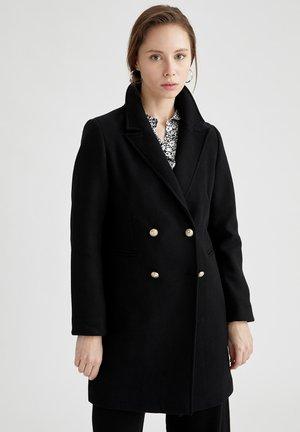 Abrigo clásico - black