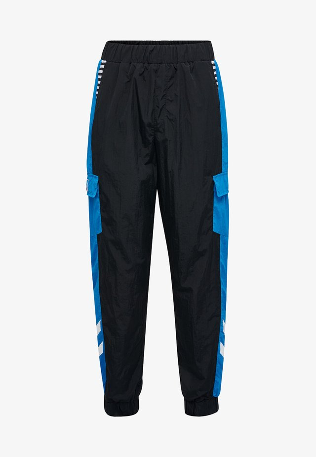 CARL  - Tracksuit bottoms - black