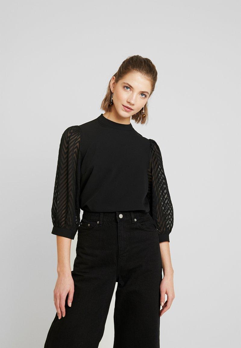 Vero Moda - VMJADE  - Blus - black jacquard