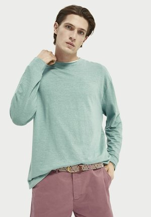 RELAXED-FIT - Long sleeved top - sage