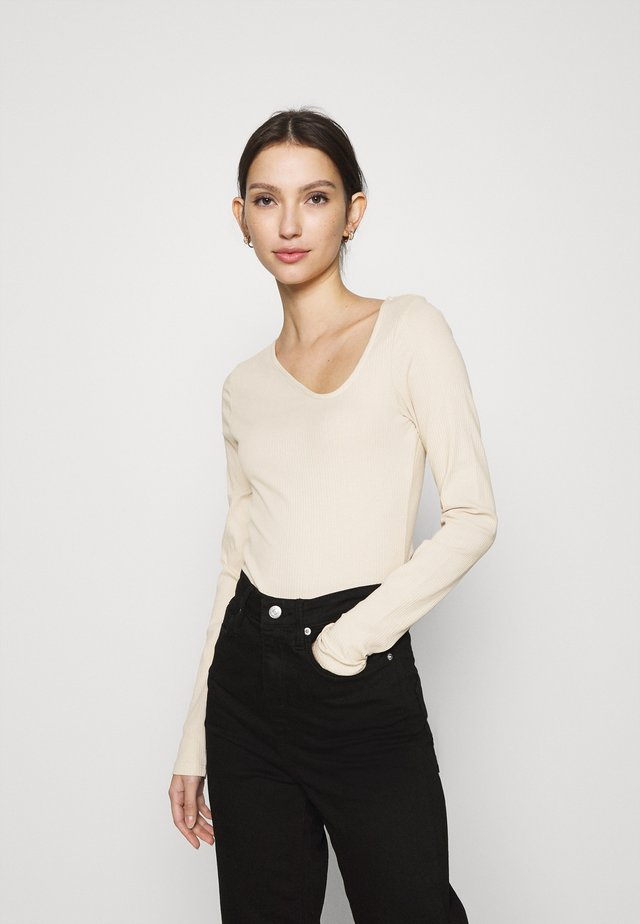 DAISY  - Long sleeved top - beige