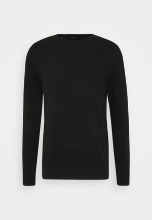 SLHBERG CREW NECK - Jumper - black