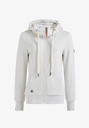 WANARI - Zip-up sweatshirt - hellgrau meliert