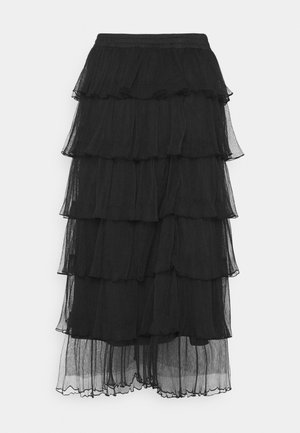 LCAMAYA SKIRT - Falda acampanada - pitch black
