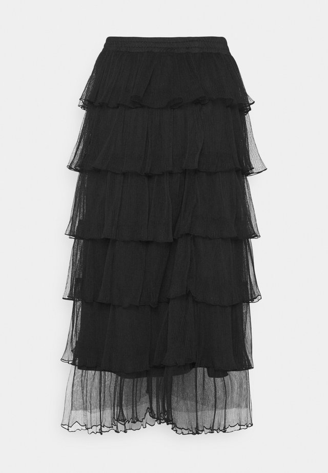 LCAMAYA SKIRT - Gonna a campana - pitch black
