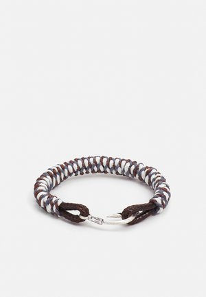HOOKED CLASP BRACELET - Bracciale - grey