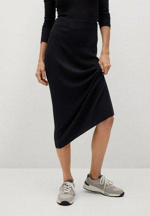 CANE-A - Pencil skirt - noir