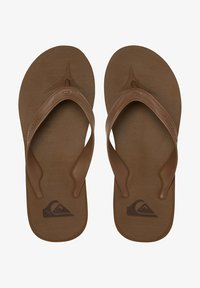 Quiksilver - T-bar sandals - tan - solid - 1