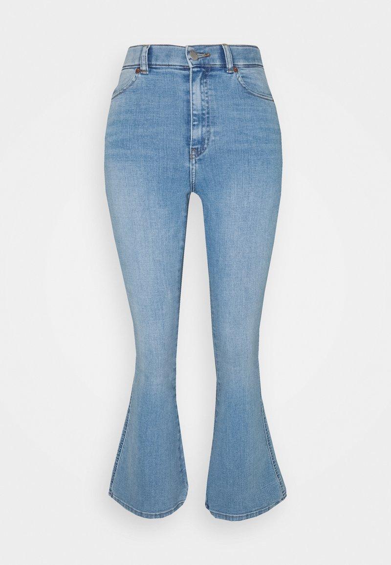 Dr.Denim Petite - MOXY FLARE  - Flared jeans - hurricane light blue