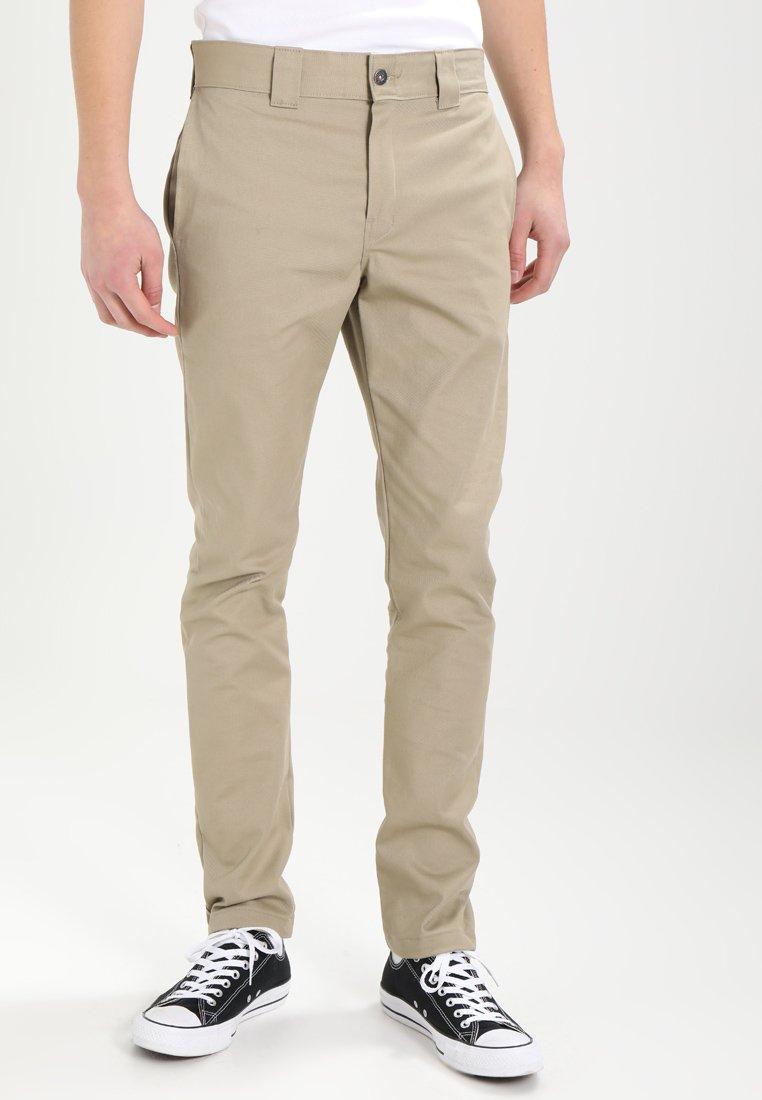 Dickies - SLIM SKINNY WORK PANT - Chino kalhoty - british tan