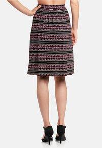 Vive Maria - A-line skirt - schwarz allover - 2