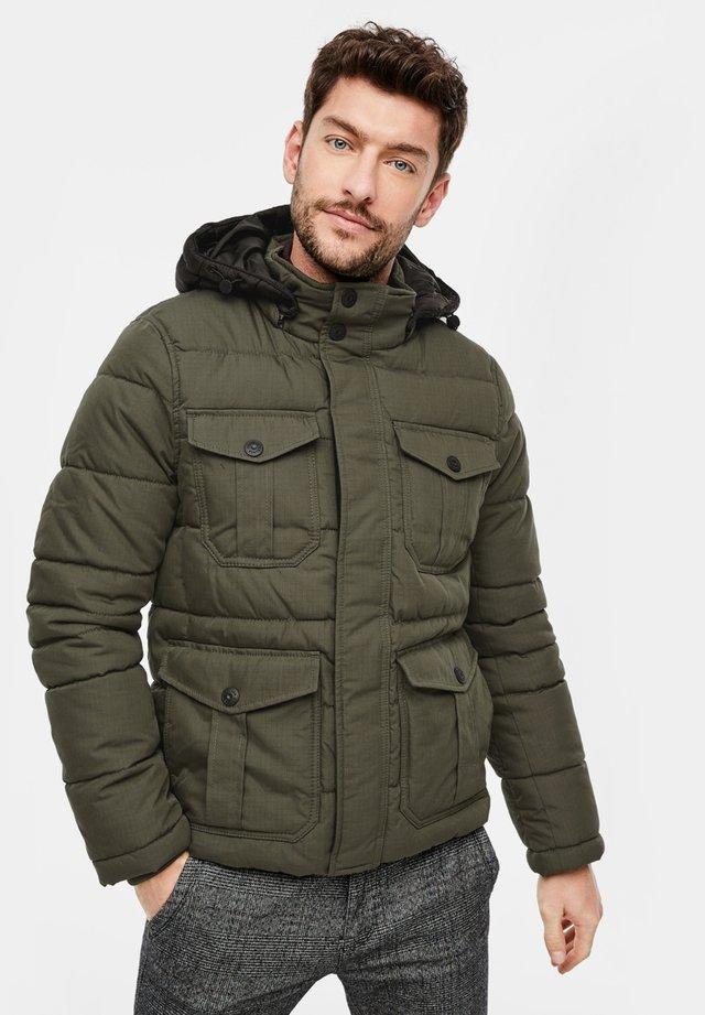 REGULAR FIT - Winter jacket - green