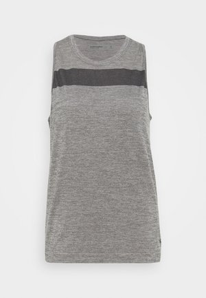 MOTION SEAMLESS TANK - Sports shirt - panther heather