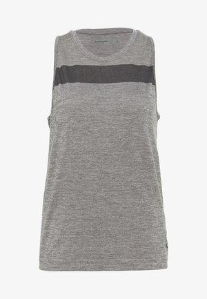 MOTION SEAMLESS TANK - T-shirt sportiva - panther heather
