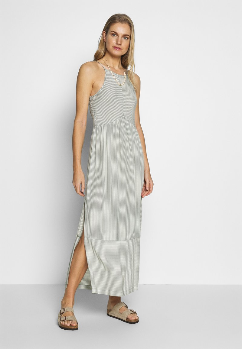 O'Neill - CHRISSY STRAPPY DRESS - Complementos de playa - green/white
