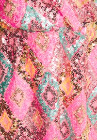 Vero Moda Petite - VMDIVA SEQUINS SHORT DRESS - Robe de soirée - hot pink - 2