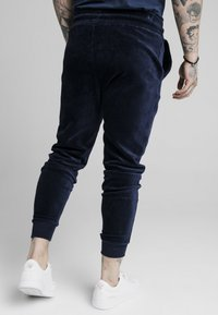 SIKSILK - ALLURE CUFFED PANTS - Tracksuit bottoms - navy - 4