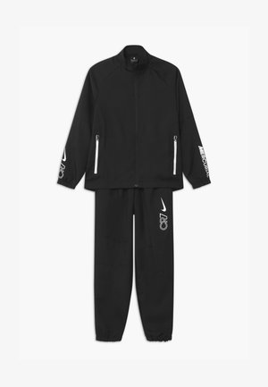 CR7 SET - Tracksuit - black/white