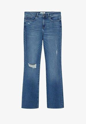 MARTHA   - Slim fit jeans - middenblauw