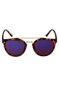 CHPO - COPENHAGEN  - Sunglasses - turtle brown/blue mirror - 2