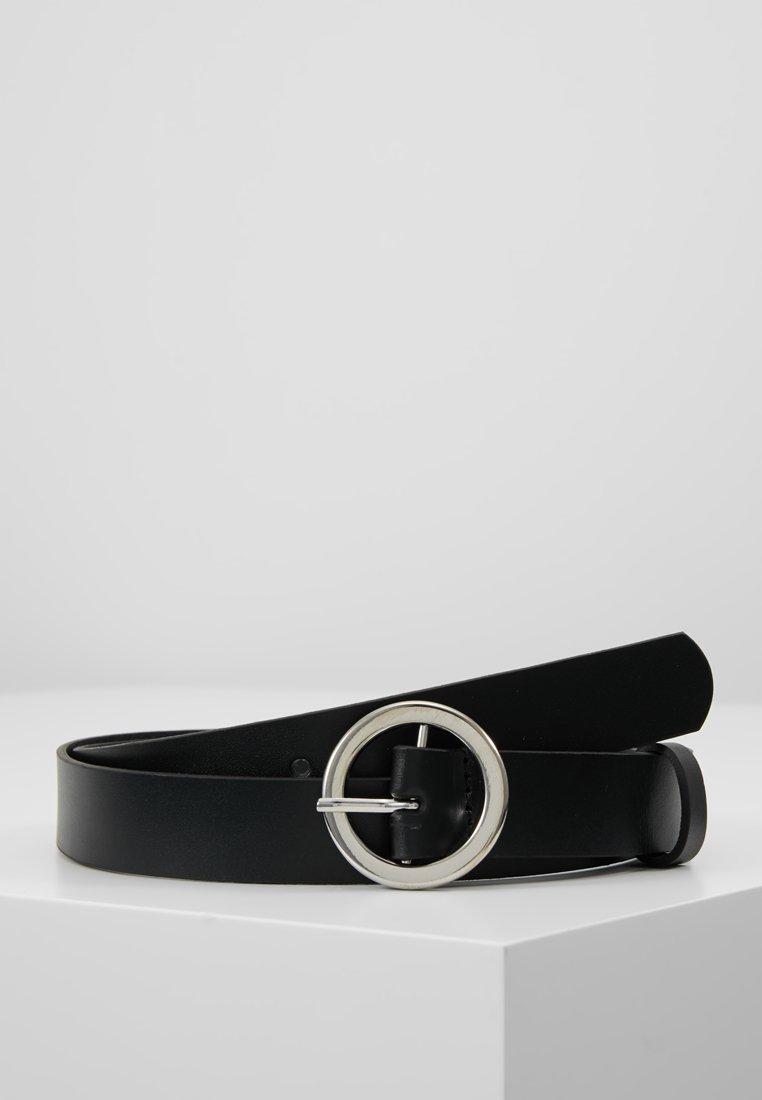 KIOMI - LEATHER - Belt - black