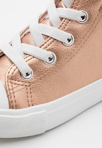 Cotton On - CLASSIC LACE UP UNISEX - High-top trainers - rose gold metallic - 5