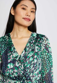 Morgan - WITH ABSTRACT PRINT - Day dress - dark blue - 3
