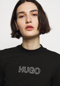 HUGO - DASSY - Jerseyjurk - black - 4