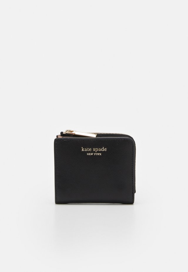 SPENCER SMALL BIFOLD WALLET - Geldbörse - black