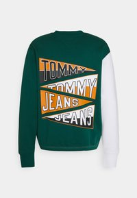 Tommy Jeans - BACK GRAPHIC CREW UNISEX - Sweatshirt - silver grey - 7