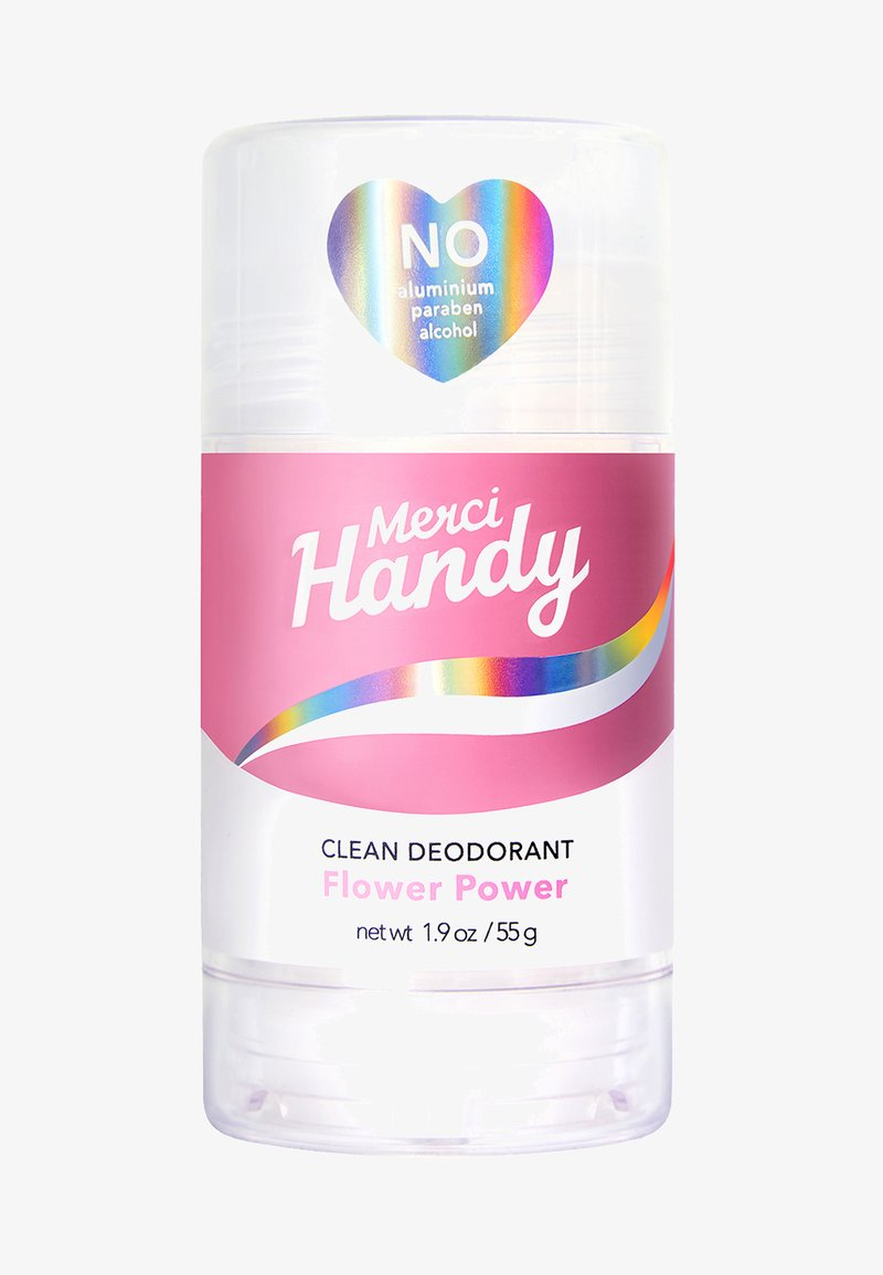 Merci Handy - CLEAN DEODORANT FLOWER POWER - Deodorant - pink
