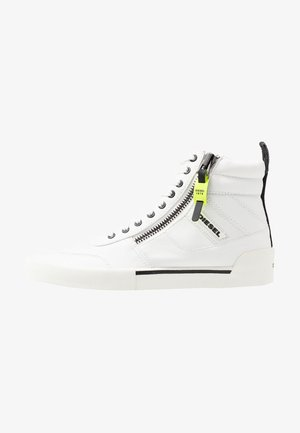 S-DVELOWS MID - Sneakersy wysokie - star white