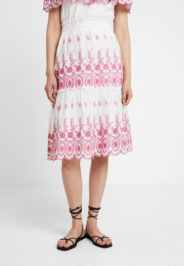 MADDIE SKIRT - Gonna a campana - hot pink