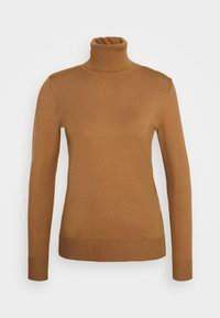 Sisley - TURTLE NECK - Jumper - beige - 4