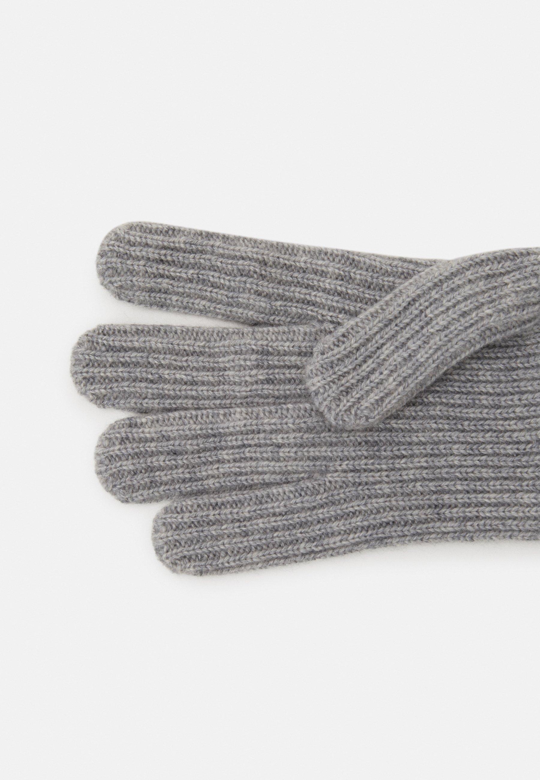 Johnstons of Elgin 100% Cashmere Gloves - Hansker - silver/grå PEwumKXYpZEI7DL