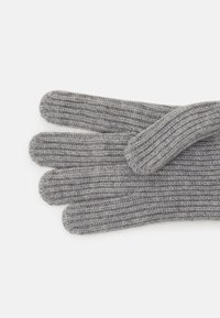 Johnstons of Elgin - 100% Cashmere Gloves  - Gloves - silver - 2