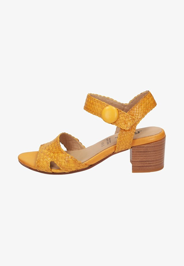 ROSIBEL - Sandals - yellow
