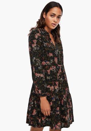 MIT FLORALEM PRINT - Day dress - black aop